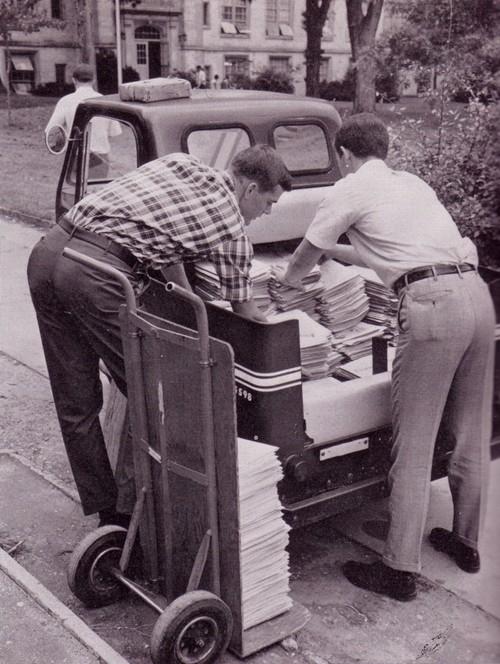 Spreading the News - 1956