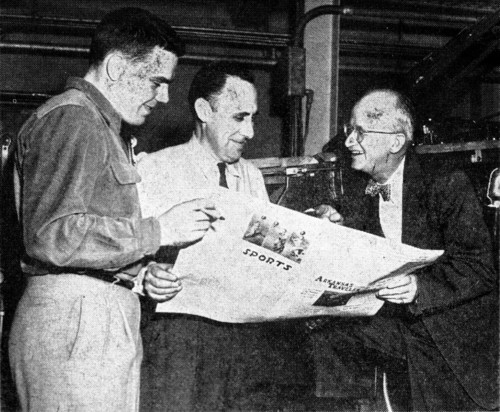 John Troutt, A.W. Blake and Walter Lemke